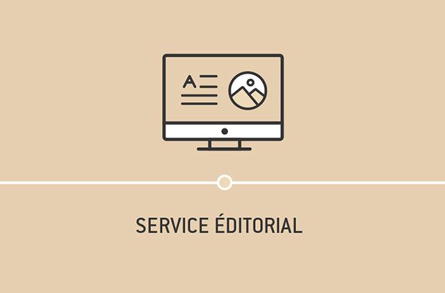 Service éditorial