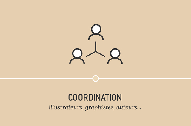 Coordination - Illustrateurs, graphistes, auteurs