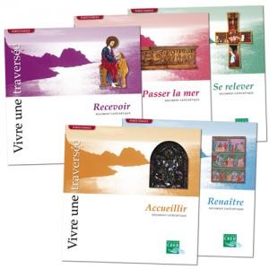 Lot de 5 albums : revenir, Passer la mer, Se relever, Accueillir, Renaître (Collection Porte Parole)