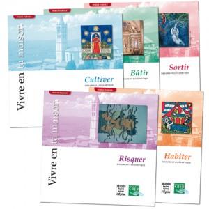 Lot de 5 albums : Cultiver, Bâtir, Sortir, Risquer, Habiter (Collection Porte Parole)