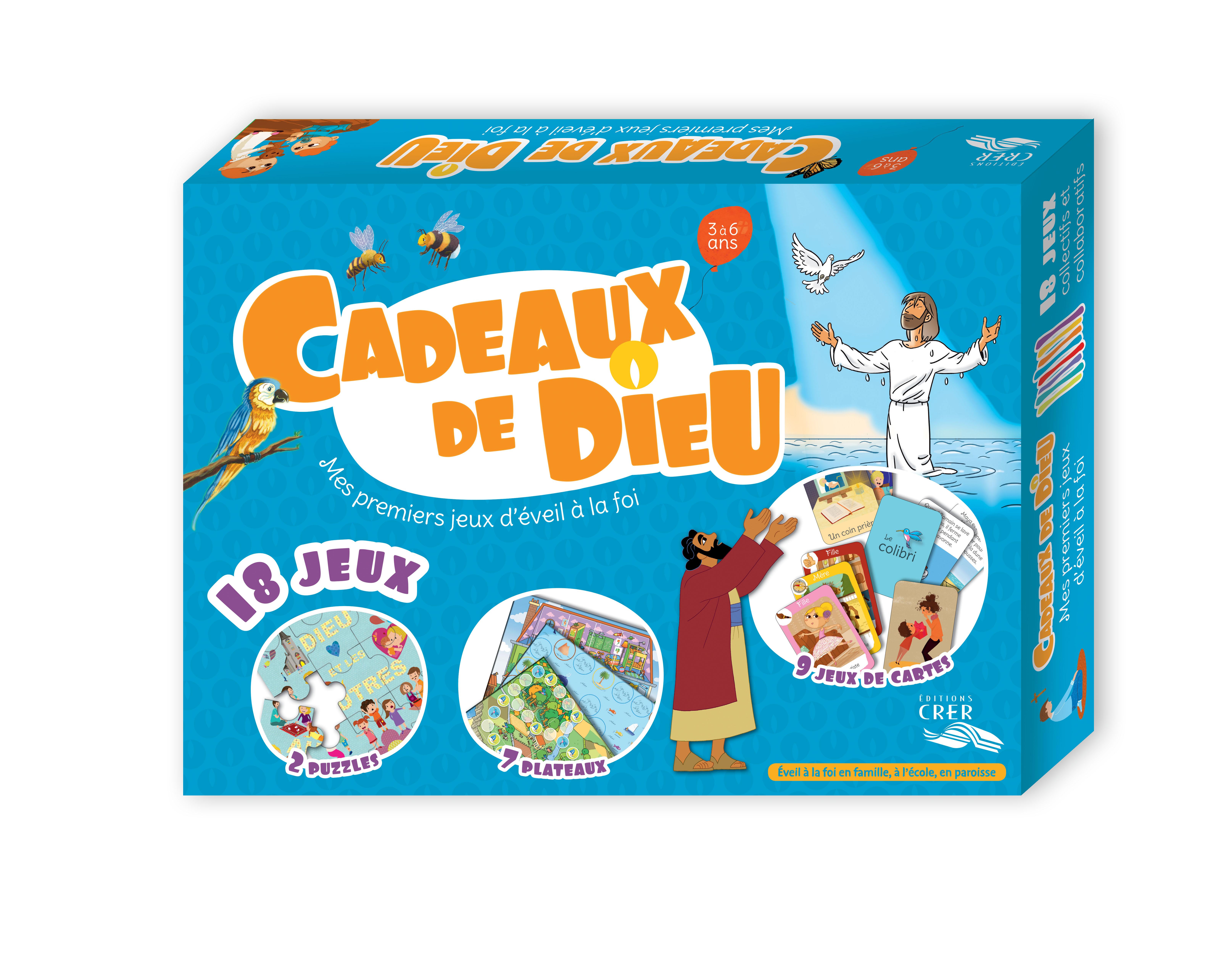 Boîte de jeux Cadeaux de Dieu 9782857334187