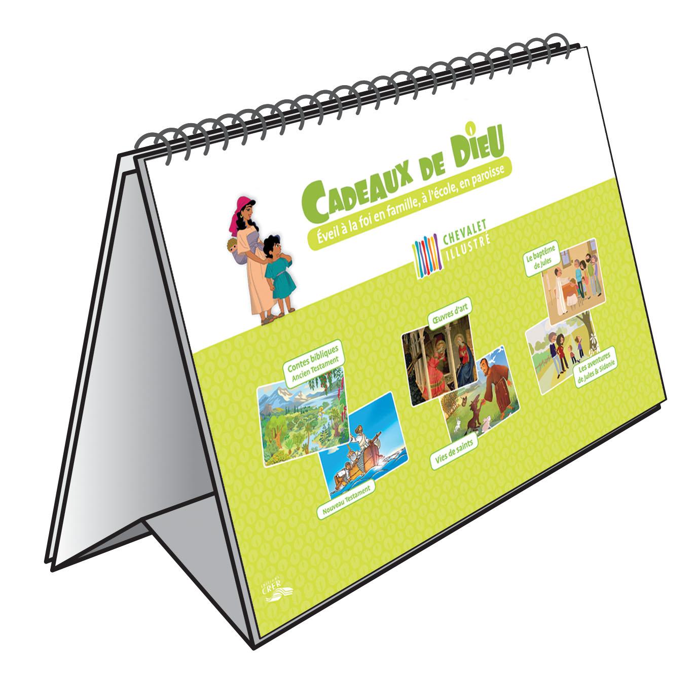 Chevalet illustré Cadeaux de Dieu - 9782857334170